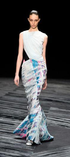 NY: J. Mendel - Runway - Mercedes-Benz Fashion Week Spring 2015