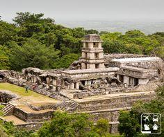 Simplesmente épico! Na cidade de Palenque, no México, podemos presenciar um engenho maia do século 7. Em meio à neblina da floresta úmida, o conjunto de ruínas de Chiapas é uma das coisas mais magníficas ainda existentes.   http://www.clubeturismo.com.br/site/