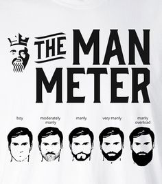 The Man Meter @ The Beard King collections