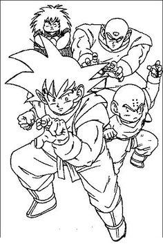 Dragon Ball Z Kleurplaten 7