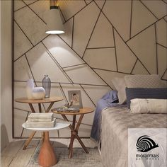 No Quarto do Jovem Casal do Coliving, assinado pela Catrin Ferreira, chama a atenção o painel atrás da cama, feito de vergalhão de obra.   @catrinferreiraarq   #morarmaisrio #decor #decoração #design #arq #arquitetura #vergalhão #cama #cabeceira #ferro