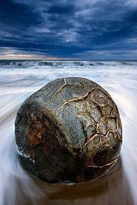The Power of One - Moeraki Boulders in New Zealand  by Kah Kit Yoong, via 500px