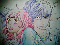 Ao Haru Ride : Kou and Futaba by MariChou-Chan (me)