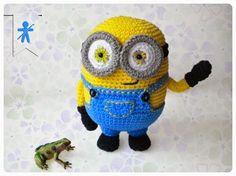 Patron Minion Amigurumi : Minions! projects to try pinterest amigurumi crochet and