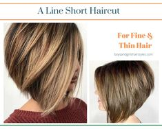 A Line Layered Short Haircut Boy Haircuts Short, New Haircuts, Short Haircut, Hairstyles Haircuts, Tail Hairstyle, Voluminous Hair, Hair Strand, Different Hairstyles, Bad Hair