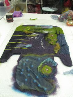 Contemporary Art and Feltmaking Instruction
