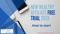Videosnippet on How to start the Wealthy Affiliate free trial and about the free features. This video refer to affiliatelinks, which means that if you clickt. Affiliate Marketing, Online Marketing, Free Seo Tools, Successful Online Businesses, Website Themes, Online Entrepreneur, Creating A Blog, Business Website, Way To Make Money