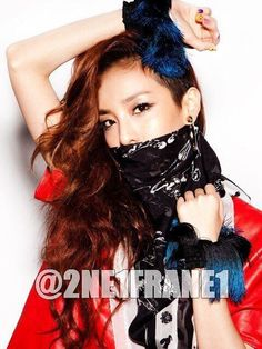 Sandara Park ★ for complex magazine Sandara 2ne1, Sandara Park, Kpop Fashion, Girl Fashion, Moda Kpop, Kdrama, 2ne1 Dara, Undercut Hairstyles, Korean Celebrities
