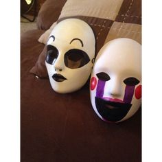 Marionette's mask Five Nights At Freddy's The Marionette's mask (The... ❤ liked on Polyvore