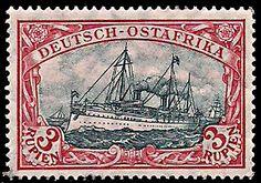 German East Africa 3R 1908