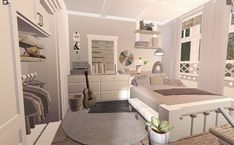 Two Story House Design, Tiny House Layout, House Layouts, Tiny House Bedroom, Bedroom House Plans, House Rooms, Simple Bedroom Design, Unique House Design, Home Building Design