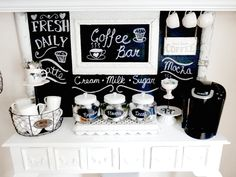 Una Vera CoffeeLover ha sempre la sua Coffee Station!