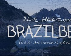 """Check out new work on my @Behance portfolio: """"Sir Hector Brazilbean Typefaces"""" http://be.net/gallery/50728103/Sir-Hector-Brazilbean-Typefaces"""
