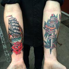 Kirk Jones @kirk_jones (Left: Fresh/ Right: Healed)