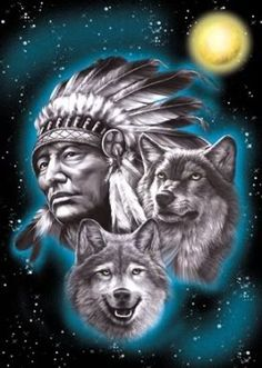 Indian Wolf | indian wolf tattoo - group picture, image by tag - keywordpictures.com
