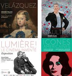 Esta primavera, cuatro exposiciones de lujo en el Grand Palais http://paris-infinito.com/?p=1482