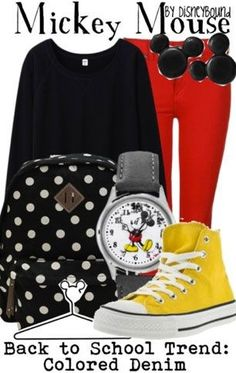 Micky mouse outfit