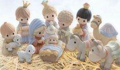 Precious Moments nativity ♡
