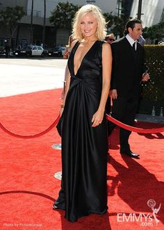 Malin Akerman arrives at the Academy of Television Arts & Sciences 64th Primetime Creative Arts Emmy Awards at Nokia Theatre L.A. Live.