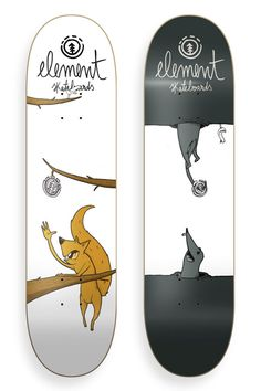 Element skateboards - Illustration on Behance