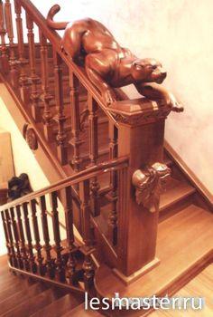 Деревянные лестницы. Изготовление деревянных лестниц | Мебель на заказ - Москва