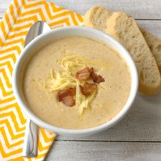 ... Soups on Pinterest | Soups, White Chicken Chili and Cauliflower Soup