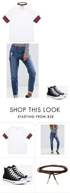"""Untitled #427"" by mariam-diakite on Polyvore featuring Gucci, ASOS, Converse and Humble Chic"
