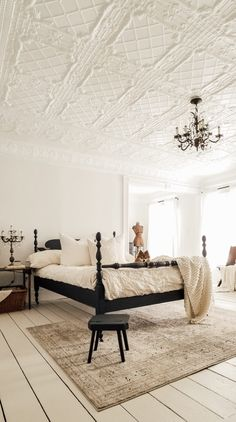 Farmhouse Master Bedroom Reveal: Part 2 – Diana Marie Home What is Decoration? Decoration may be the art of decorating … Home Decor Styles, Home Decor Accessories, Cheap Home Decor, Classic Home Decor, Classic House, Classic Bedroom Decor, Farmhouse Master Bedroom, Home Bedroom, French Master Bedroom