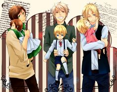 Just some cute, funny and sometimes sad Hetalia picture. Hetalia Characters, Fictional Characters, Bad Touch Trio, Spamano, Bad Friends, Axis Powers, You Draw, Prussia, Kirito