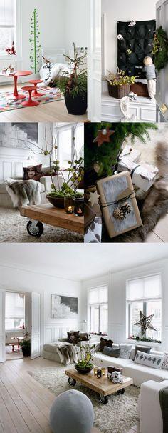Ambiances de Noël modernes / Modern Christmas atmosphere.