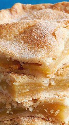 Danish Pastry Apple Bars ❊