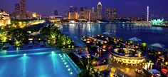 The Fullerton Bay Hotel, Singapore.