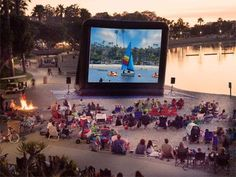 Free Outdoor Movies in Orange County | Anaheim/Orange County - Oh Yes, this is going to happen!