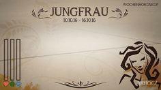 Wochenhoroskop: Jungfrau (KW 41 - 2016) - So stehen deine Sterne Kinder Wochen vom 10. - 16.10.2016 #Horoskop #Jungfrau #Liebe #Gesundheit #Job
