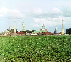 Golutvinskii Monastery for Men by Sergei Mikhailovich Prokudin-Gorskii