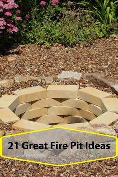Newest Screen rustic Backyard Fire Pit Popular Many of present-day homeowners need for more than a traditional wooden deck by using a smoker inside their bac. Fire Pit Landscaping, Fire Pit Backyard, Garden Fire Pit, Foyers, In Ground Fire Pit, Fire Pit Grate, Outside Fire Pits, Rustic Backyard, Fire Pit Designs