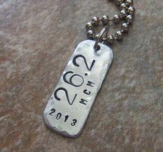 26.2 Marathon Necklace   Personalize with the by BraceletsbyLinda, $25.00
