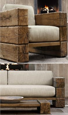 Pin by Tiago Lemos on Mesa de Rustic Center in 2020 D .- Pin von Tiago Lemos auf Mesa de Rustic Center im Jahr 2020 Dekoration Pin by Tiago Lemos on Mesa de Rustic Center in 2020 decoration - Live Edge Furniture, Pallet Furniture, Rustic Furniture, Furniture Design, Outdoor Furniture, Furniture Ideas, Modern Furniture, Rustic Chair, Furniture Chairs