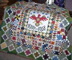 Medallion Quilt Hand Quilted by gmapquilts on Etsy, $230.00