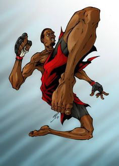 Killing the King: Jon Jones Dope Cartoon Art, Dope Cartoons, Sexy Black Art, Jon Jones, Workout Pictures, Action Poses, Mixed Martial Arts, Kickboxing, Muay Thai