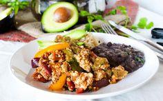 Tofu Huevos Rancheros [Vegan] | One Green Planet