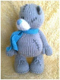 Рукоделие: Как связать Мишку Тедди — вязание спицами, описание схемы