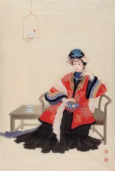 The Lady (Artiests Yue Guo Jin & Wang Mei Fang)