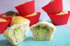 muffins de brócoli