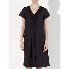 £37 Buy John Lewis Pintuck Front Linen Dress Online at johnlewis.com