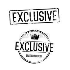 Exclusive Vector Stamp