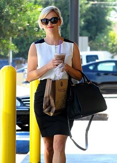 Reese Witherspoon grabbed a treat in Beverly Hills, CA, on Friday.