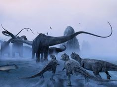 La vera causa dell'estinzione dei dinosauri? I cambiamenti climatici