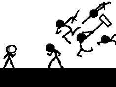 stick fight - Google Search Stick Man Fight, Gifs, Amazing Art, Badass, Cool Stuff, Funny Stuff, Childhood, Meme, Marvel