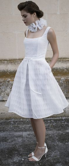 Short Wedding Dress Cymbeline Paris